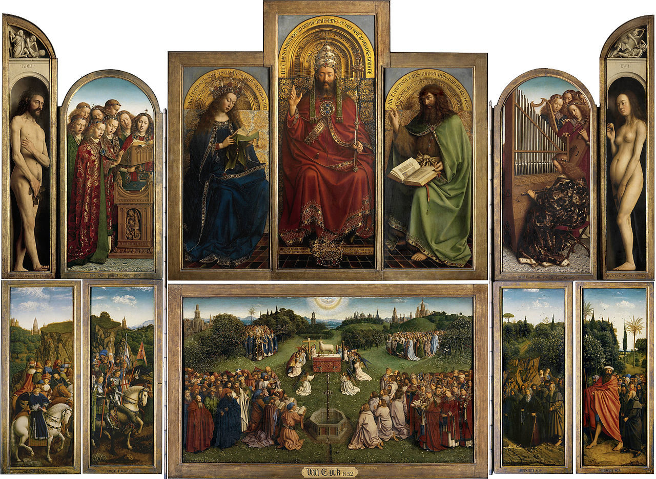 Jan van Eyck, Public domain, via Wikimedia Commons