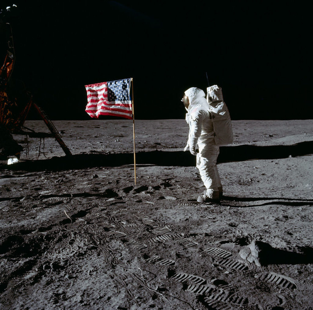 Foto: NASA/Neil A. Armstrong - Apollo 11 Image Library, Public Domain via Wikimedia Commons