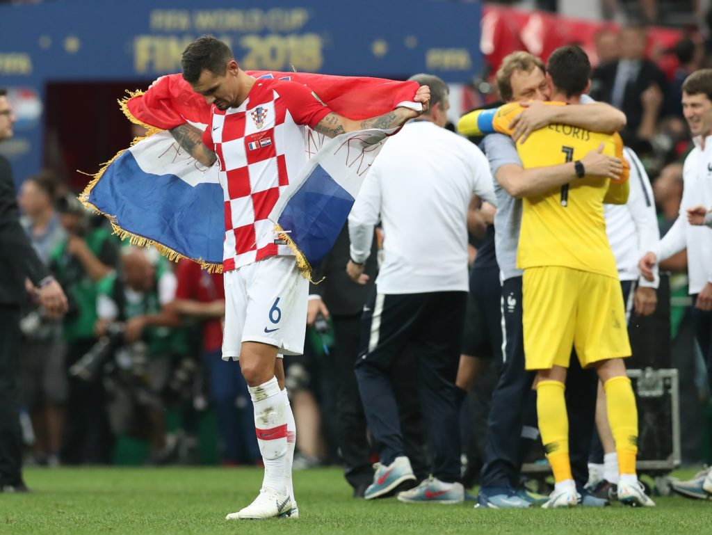 France v Croatia - FIFA World Cup 2018 - Final - Luzhniki Stadium Dejan Lovren of Croatia dejected during the FIFA World Cup 2018 Final at the Luzhniki Stadium, Moscow. Picture date 15th July 2018. Picture credit should read: David Klein/Sportimage via PA Images David Klein  Photo: Press Association/PIXSELL